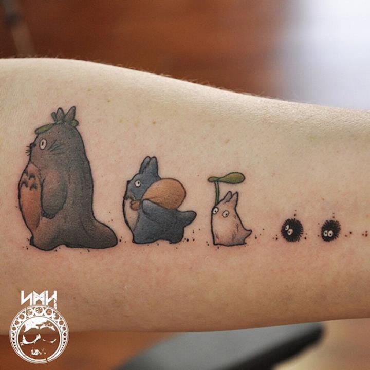 Tatuaggio Totoro 1