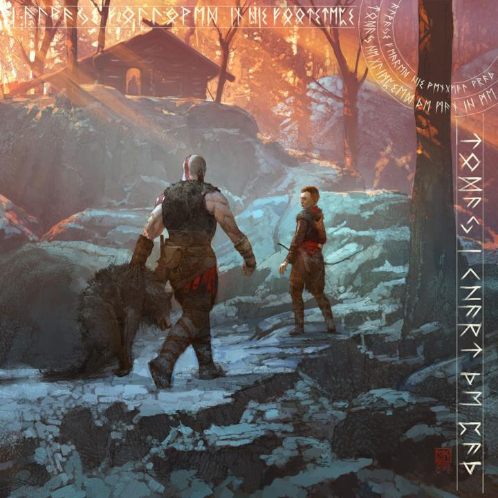 Gli artwork di God of War: A Call From The Wilds