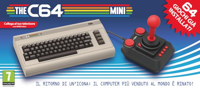 Annunciato il Commodore 64 in versione mini