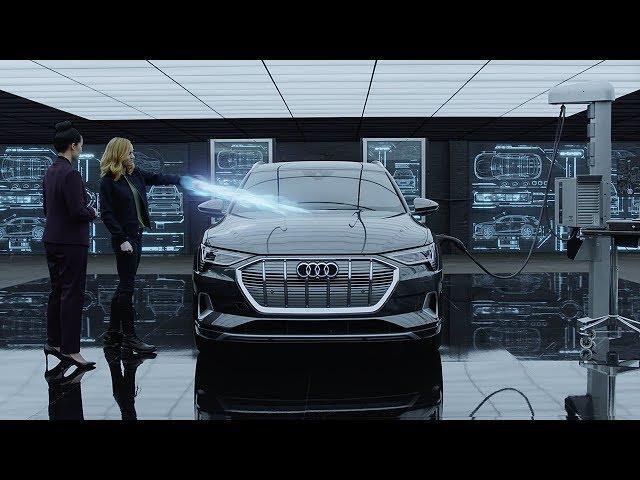 Captain Marvel scopre la Audi E-Tron nel nuovo spot