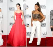Ecco i look delle star sul red carpet o sul paclo degli American Music Awards 2016