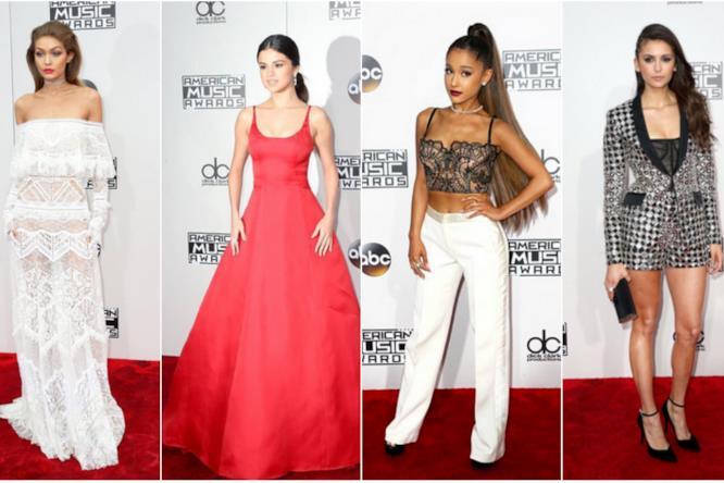 Da Selena Gomez a Gigi Hadid, ecco i look degli American