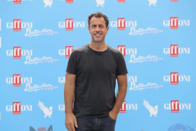 Matteo Garrone: in posa al Giffoni Film Festival 2016
