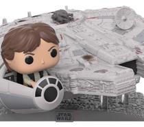 Il Funko POP! del Millenium Falcon con Han Solo a bordo è semplicemente stupendo