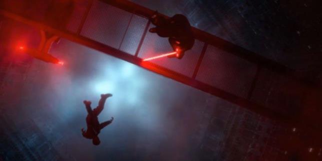 Immagine della morte di Han Solo