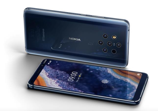 Immagine stampa del Nokia 9 PureView
