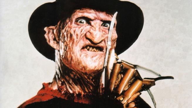 Freddy Krueger con i suoi artigli