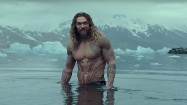Aquaman: Jason Momoa parla dell'evoluzione del personaggio