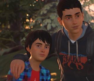 I due fratelli protagonisti di Life is Strange 2