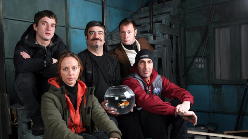 Da sinistra: Alessandro, Arianna, René, Stanis e Biascica