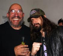 Sid Haig insieme a Rob Zombie