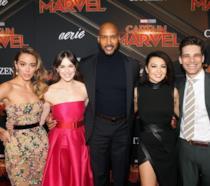 Gli Agenti dello S.H.I.E.L.D. danno il benvenuto a Captain Marvel