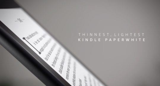 Il nuovo Kindle Paperwhite è in preordine