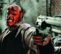 scena di Hellboy