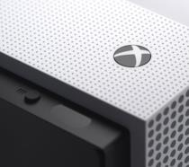 Il logo di Xbox su Xbox One S