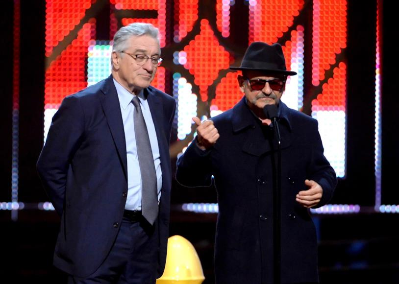 Joe Pesci e Robert De Niro all'Annual Guys Choice Awards