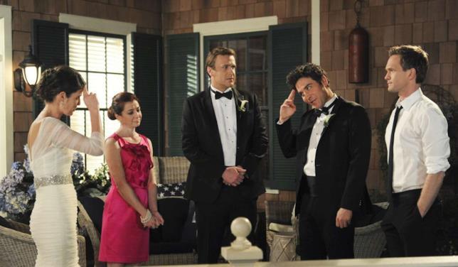 Una scena della sitcom