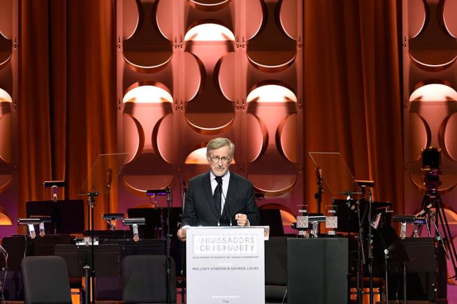 Il regista Steven Spielberg ambasciatore dei diritti umani