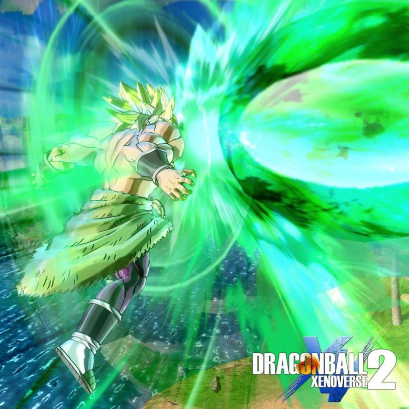 Broly Super Saiyan Full Power Xenoverse 2