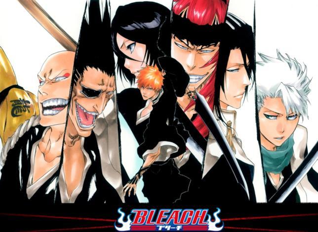 Bleach Ichigo e altri personaggi