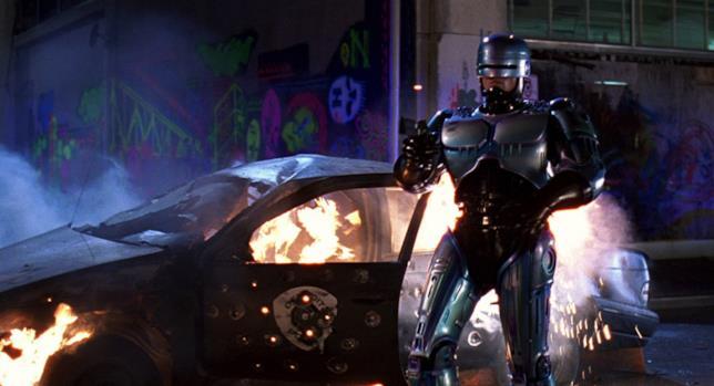 Una sequenza tratta da RoboCop 2