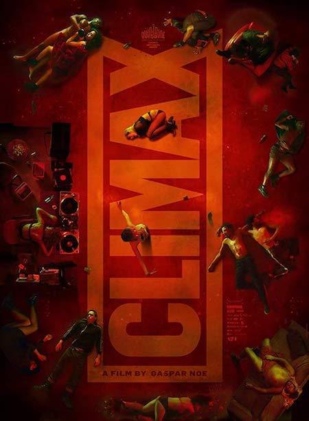 Il poster di Climax, film scandalo del regista argentino Gaspar Noé