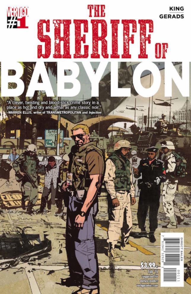 Copertina di Sheriff of Babylon