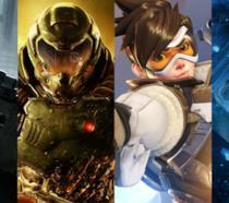 Gli eroi di alcuni dei migliori videogame del 2016