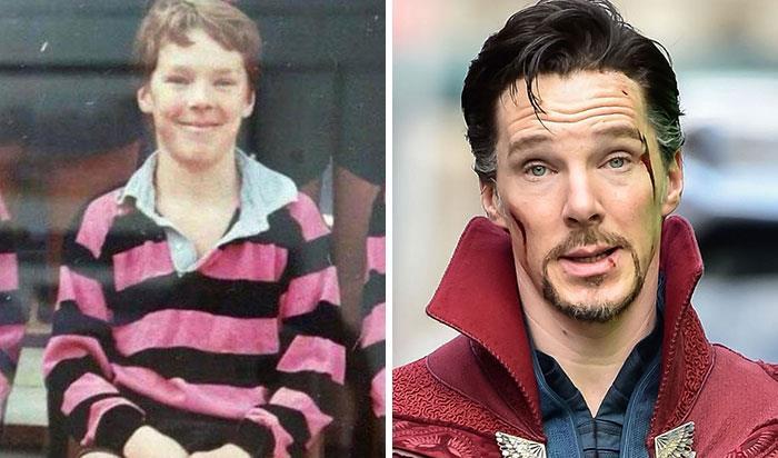 Benedict Cumberbatch (Doctor Strange) da bambino e nei film Marvel