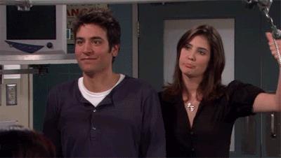 Robin fa il versaccio a Ted