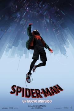 Miles nel teaser poster italiano di Spider-Man: Un nuovo universo