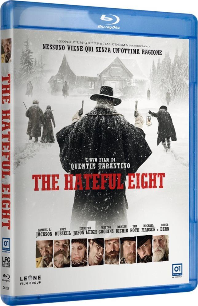 La copertina di The Hateful Eight