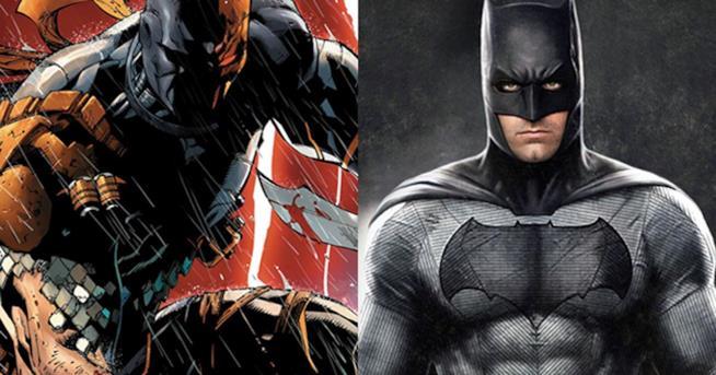 Deathstroke e The Batman