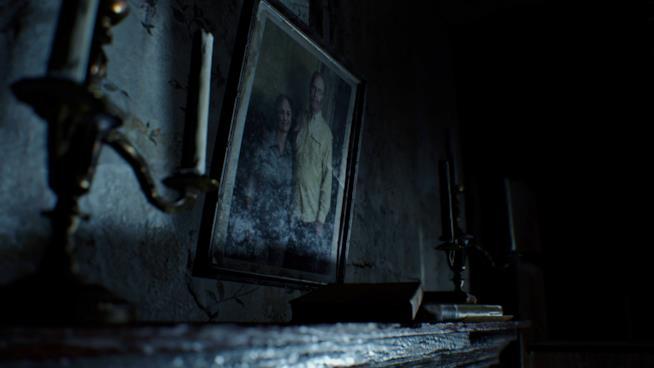 La famiglia Baker prima del contagio in Resident Evil 7