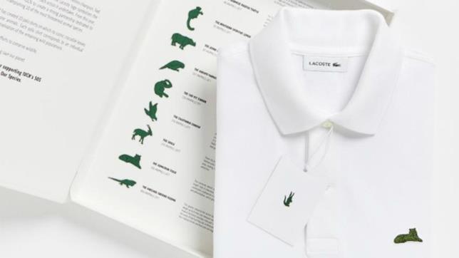 I dieci nuovi loghi delle polo di Lacoste per la campagna Save our Species