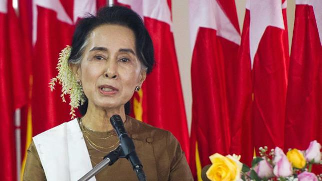 Leader birmana Aung San Suu Kyi, Nobel per la Pace