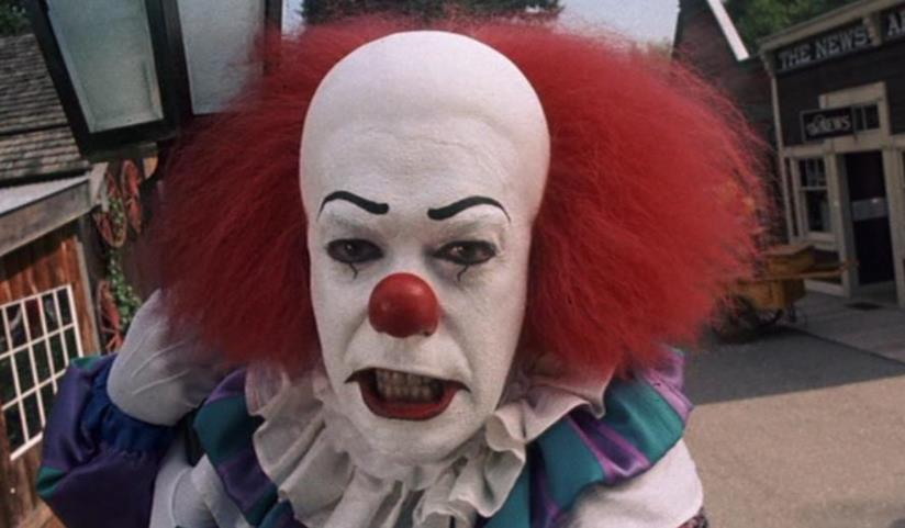 Pennywise nella miniserie IT