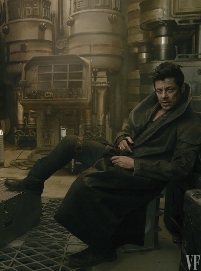 Star Wars: Gli Ultimi Jedi, Benicio Del Toro è DJ
