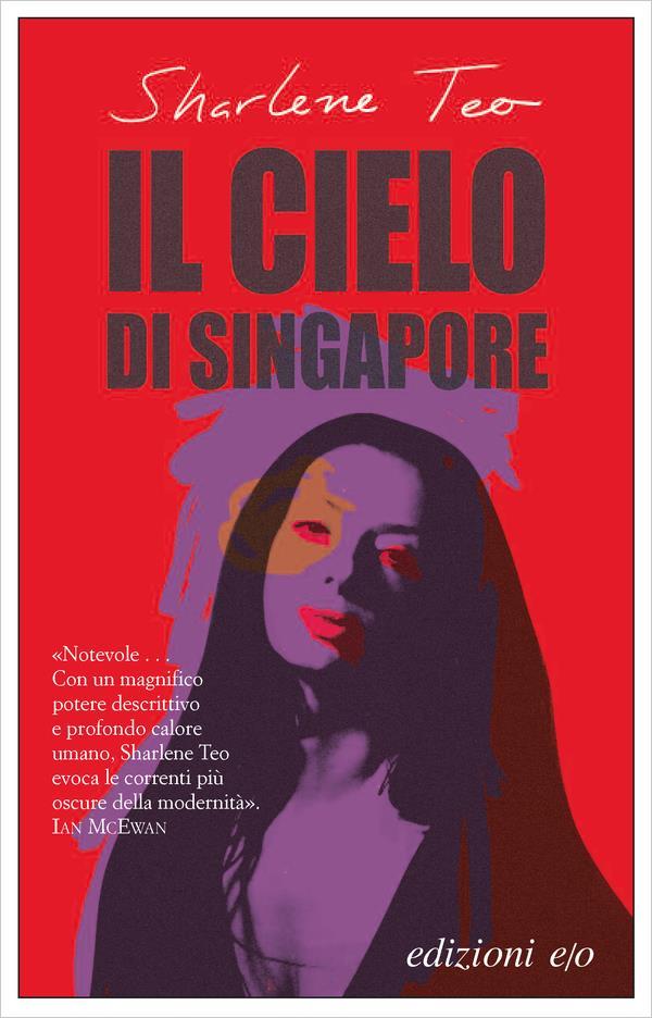 La copertina di Il cielo di Singapore