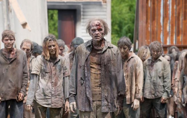 I non morti della serie AMC The Walking Dead