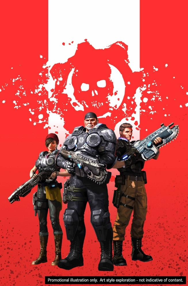 Gears of War diventa un fumetto