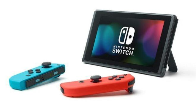 Joy-Con e schermo di Nintendo Switch