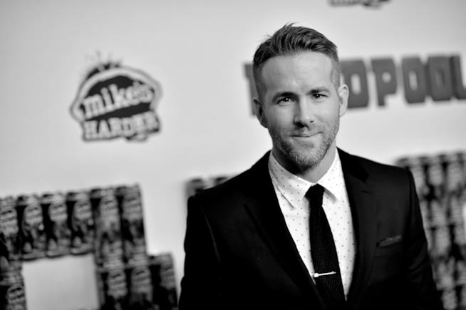 L'attore Ryan Reynolds, interprete di Deadpool