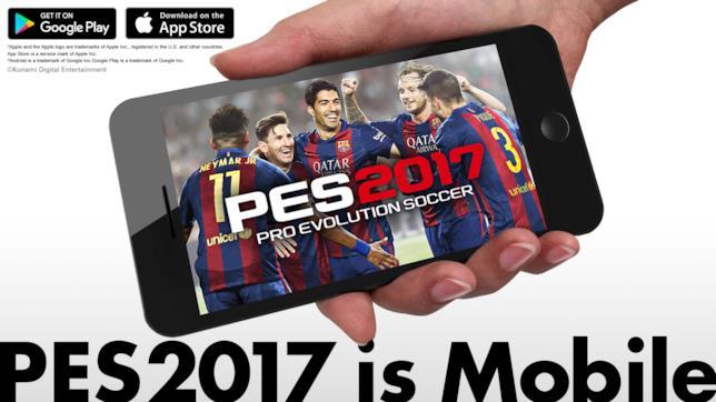 PES 2017 Mobile è disponibile per il download su iOS e Android
