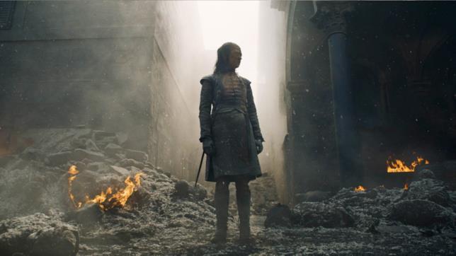 GoT 8x05: Arya tra le rovine della Capitale
