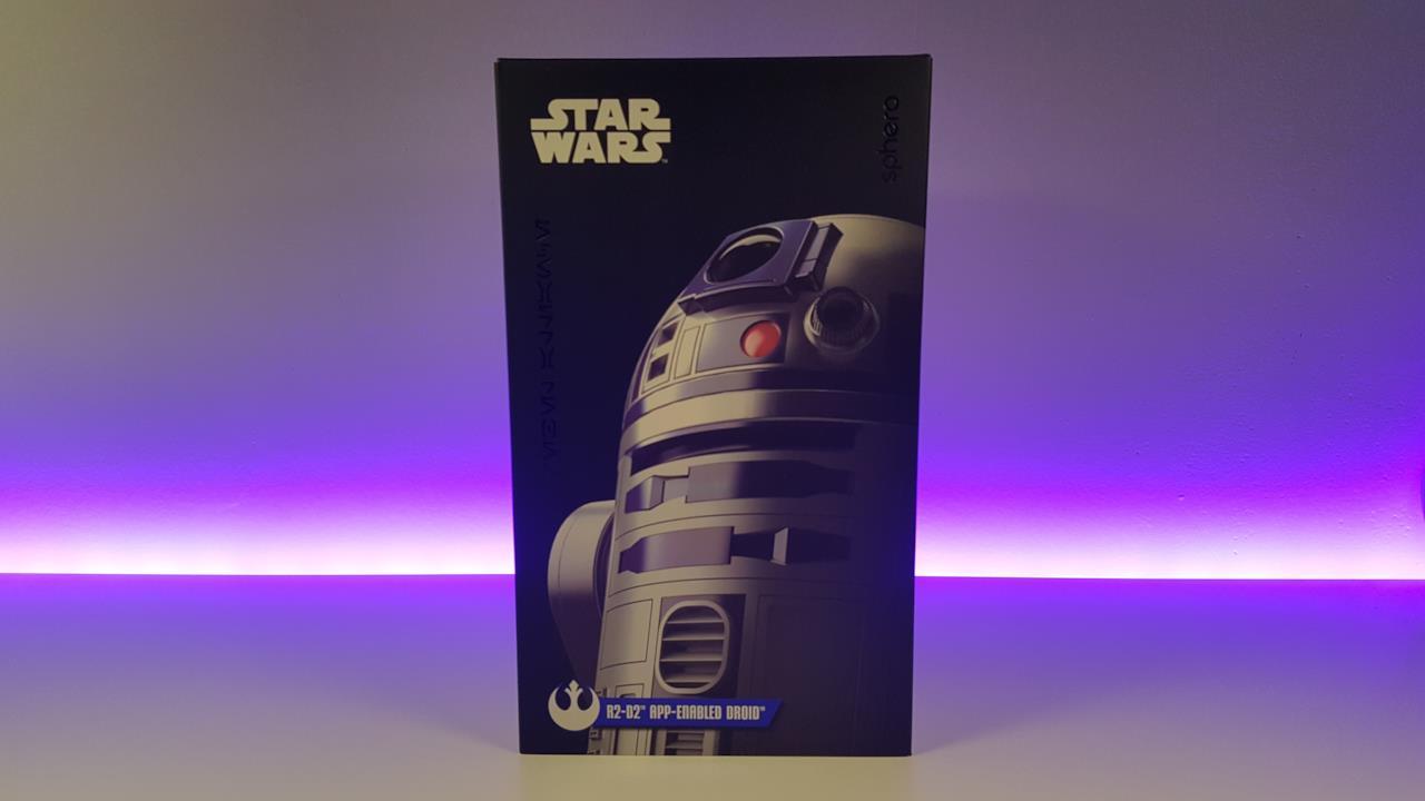 La confezione dell'R2-D2 di Sphero