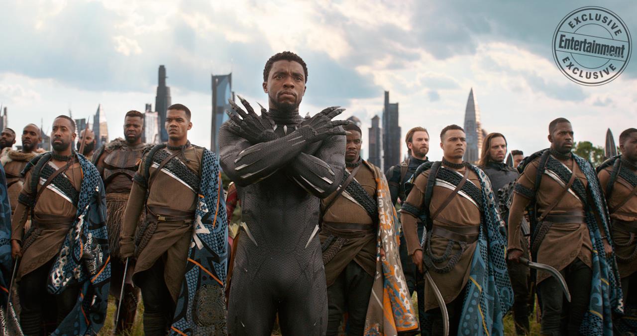 Black Panther è in prima linea per lo scontro in Wakanda di Avengers: Infinity War