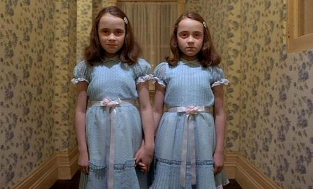Le gemelline del film Shining