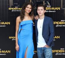 Zendaya e Tom Holland al Photocall di Spider-Man: Homecoming