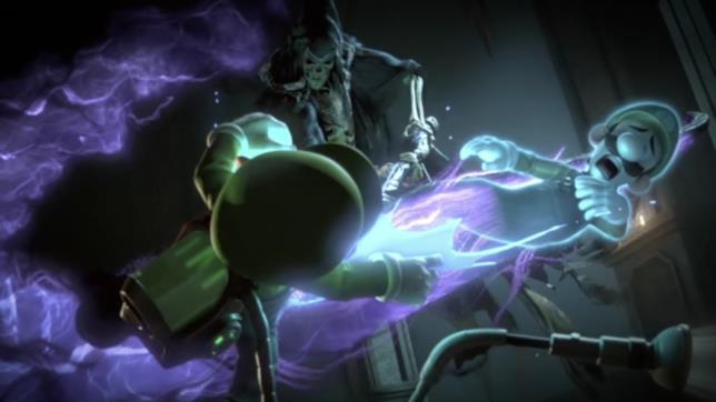 L'anima e il corpo di Luigi vengono separate dalla Morte